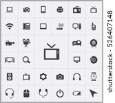 tv icon. device icons universal ... | Shutterstock .eps vector #526407148