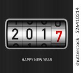 2017 new year odometer   new... | Shutterstock .eps vector #526410214