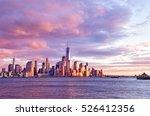 new york city   beautiful... | Shutterstock . vector #526412356