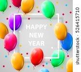 new year celebration poster... | Shutterstock .eps vector #526415710