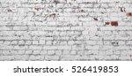Vintage Old Brick Wall Texture. ...