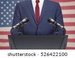 businessman or politician... | Shutterstock . vector #526422100
