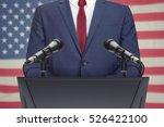 businessman or politician... | Shutterstock . vector #526422100