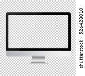 monitor imac style for pc on... | Shutterstock .eps vector #526428010