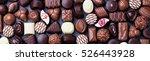 assortment of fine chocolate... | Shutterstock . vector #526443928