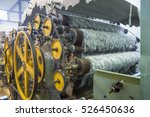 manufacturing synthetic filler... | Shutterstock . vector #526450636