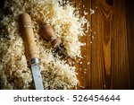 Woodworking Tools. Chisel With...