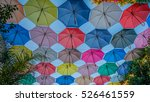 street decorated with...   Shutterstock . vector #526461559