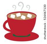 hot cocoa | Shutterstock . vector #526467130