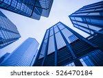Modern Skyscrapers In A...