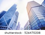modern skyscrapers in a... | Shutterstock . vector #526470208