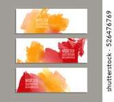 vector banner shapes collection ... | Shutterstock .eps vector #526476769
