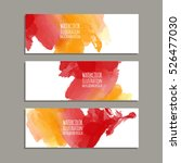 vector banner shapes collection ... | Shutterstock .eps vector #526477030