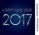 happy new year 2017   vector... | Shutterstock .eps vector #526478470