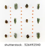 creative natural floral pattern ... | Shutterstock . vector #526492540
