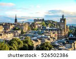 Edinburgh Skyline As Seen From...
