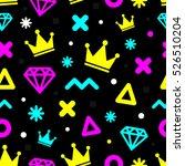 seamless abstract pattern... | Shutterstock .eps vector #526510204