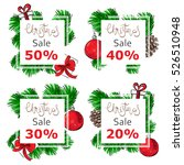 a set of banners for your... | Shutterstock .eps vector #526510948