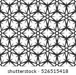 black and white ethnic  arabic  ... | Shutterstock .eps vector #526515418