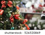 Christmas Tree In Mall With...