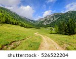 the picturesque alpine... | Shutterstock . vector #526522204