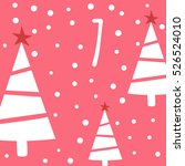 page advent calendar 25 days of ... | Shutterstock .eps vector #526524010