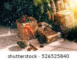 Christmas Tree With Gifts Unde...