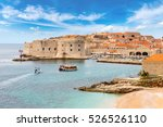 old city dubrovnik in a... | Shutterstock . vector #526526110