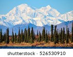 denali is the highest mountain... | Shutterstock . vector #526530910