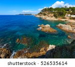 summer sea rocky coast... | Shutterstock . vector #526535614