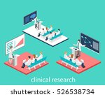 isometric flat 3d concept of... | Shutterstock . vector #526538734