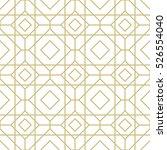 geometric gold pattern.... | Shutterstock .eps vector #526554040