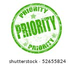 Green Grunge Rubber Stamp With...