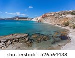 beautiful sea beach on the... | Shutterstock . vector #526564438