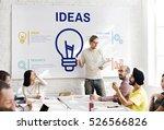 be creative fresh ideas... | Shutterstock . vector #526566826