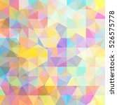 abstract background consisting... | Shutterstock . vector #526575778