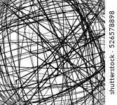 grunge scribble texture for... | Shutterstock .eps vector #526578898