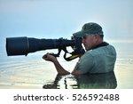 wildlife photographer outdoor ... | Shutterstock . vector #526592488