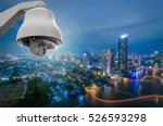 cctv monitoring  security... | Shutterstock . vector #526593298