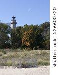 A Lighthouse Under A Daytime...