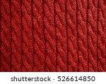 knitted fabric texture | Shutterstock . vector #526614850