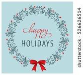 Christmas Card Design. Happy...