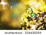 christmas background | Shutterstock . vector #526630354