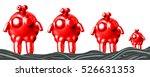 3d alien extraterrestrial  | Shutterstock . vector #526631353