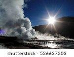 the sun shines through the...   Shutterstock . vector #526637203