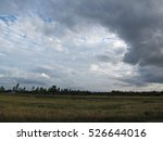 Coming Storm In Rural Land