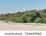 bank of drought zayandeh river... | Shutterstock . vector #526645060