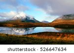 autumn golden mountain and... | Shutterstock . vector #526647634