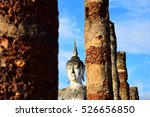 title   the buddha statue at... | Shutterstock . vector #526656850