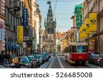 prague czech republic   oct 01  ... | Shutterstock . vector #526685008
